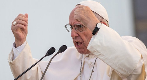 """""""Franziskus sagt: 'Gott kann nicht Gott ohne den Menschen sein'"""""""